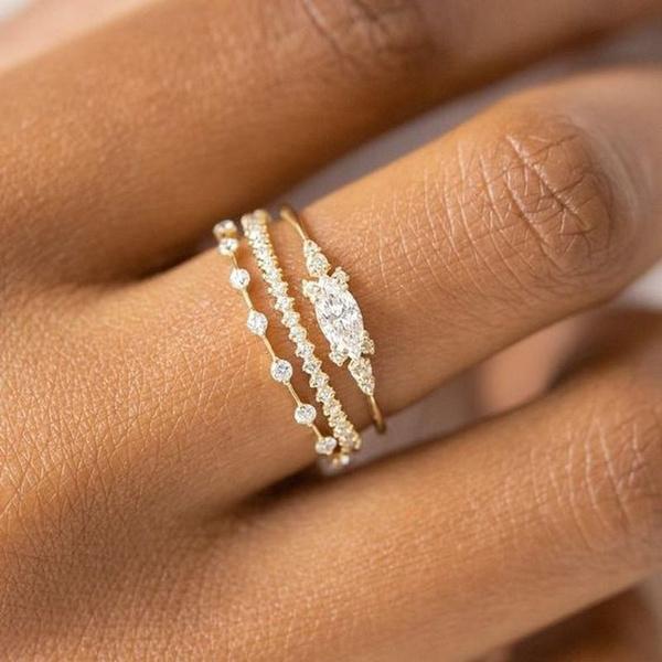 DIAMOND, wedding ring, Gifts, princessring