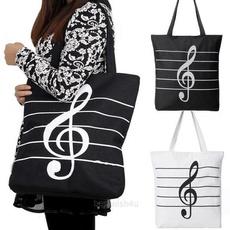 shopbag, musicalbag, Canvas, Tote Bag
