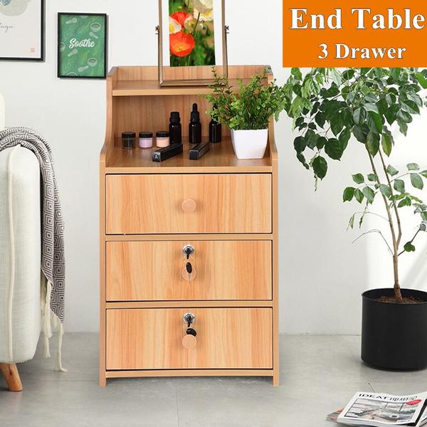 sidetable, Tables, Home & Living, drawerstoragetable