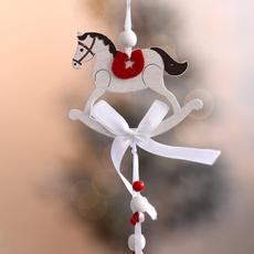 horse, Christmas, Dance, Ornament