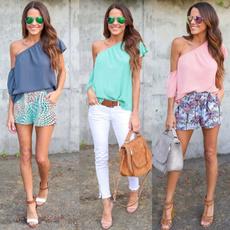 Summer, Fashion, ruffle, Sleeve
