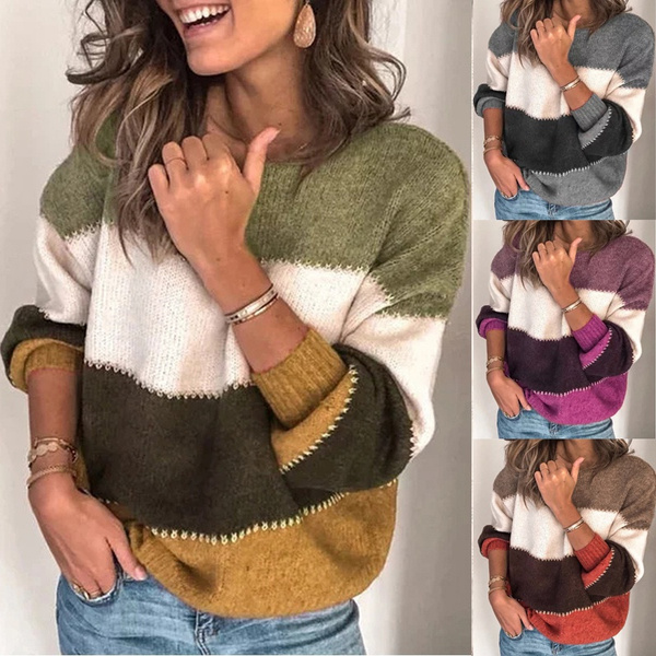 knitted, Women Sweater, Sleeve, pullover sweater