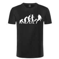 Funny, evolution, Shorts, Shirt