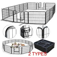 black, petplaypen, fence, Pets
