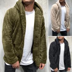 Hoodies, Fleece, hooded, Winter