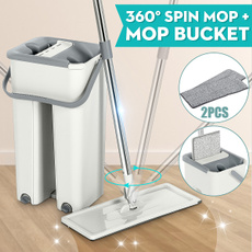 flatbucketmop, flatsqueezemop, mopclean, Cleaning Supplies