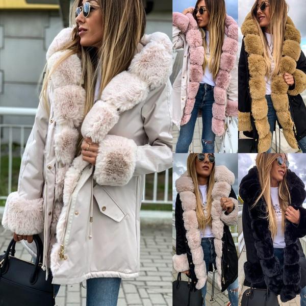 thickencoat, fur coat, Plus Size, fur