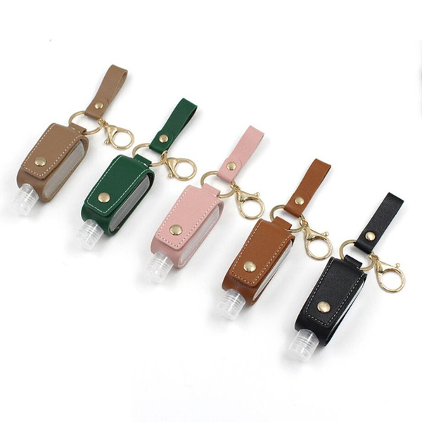 case, outdoordisinfectantholster, Key Chain, leather