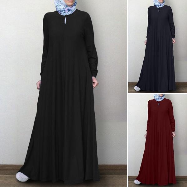 Women, kaftanrobe, muslimdres, Sleeve