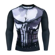 trainingshirt, printed, bodybuildingshirt, Sleeve