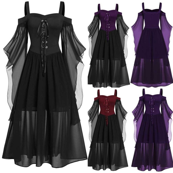 butterfly, gowns, Goth, Fashion