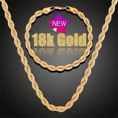 18kgoldnecklace, Jewelry, Chain, Classics