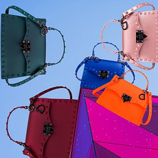 smallpurse, redpurse, Ladies Handbags, shouldersling