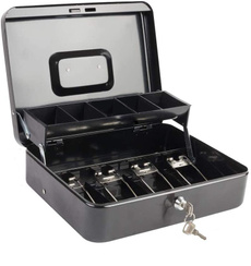 Box, moneysavingorganizer, cashbox, cantilevermoneytray