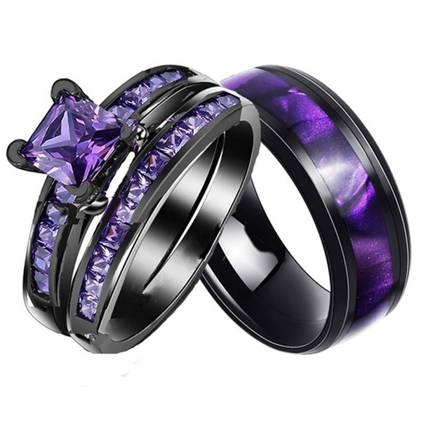 Couple Rings, Steel, Jewelry, gold