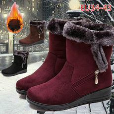 non-slip, ankle boots, Cotton, Outdoor