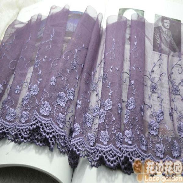 Trim, lace trim, Lace, purple