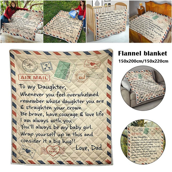 familyblanket, Fleece, Quilt, Blanket