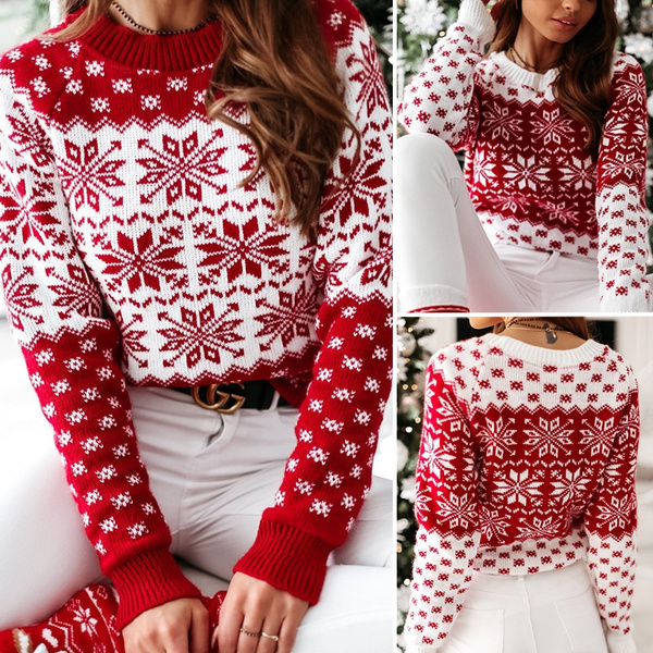 knitted, Fashion, Christmas, Sleeve