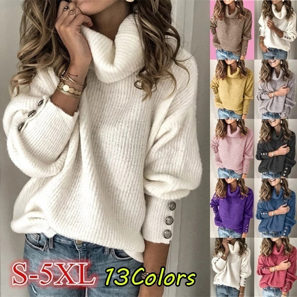 Turn-down Collar, camisetasmujer, Plus Size, Coat