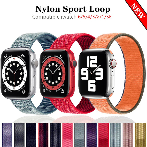 iwatchseries5band, Nylon, iwatchstrap38mm, iwatch5strap