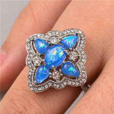 Blues, Sterling, Fashion, Jewelry