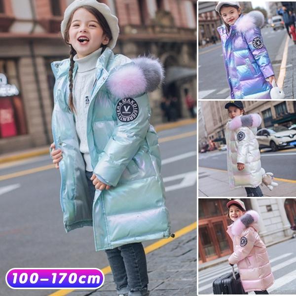 Plus Size, kids clothes, Winter, Long Coat