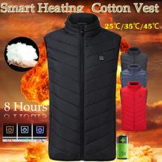 Vest, Fashion, heatingcottonjacket, smartjacket