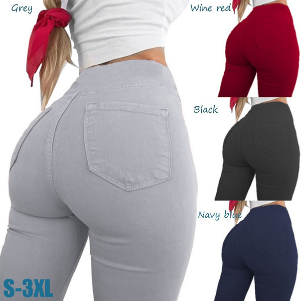 pencil, Fashion, high waist, Pocket