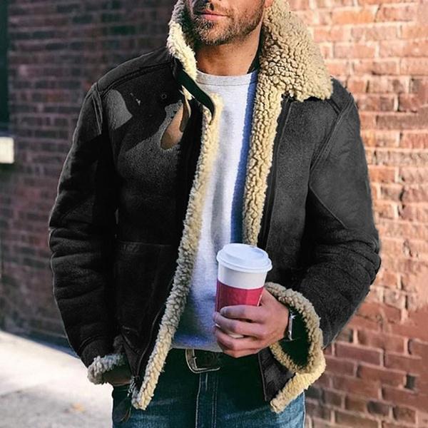 Fleece, Men, fur, Winter
