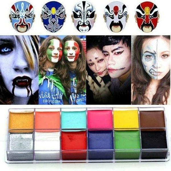 tattoo, Fantastic, art, facepaintcolor