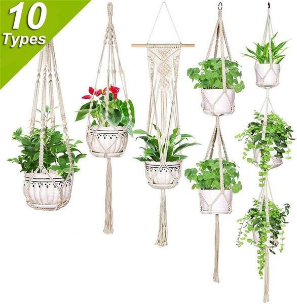 Plants, Flowers, planthangermacrame, Garden