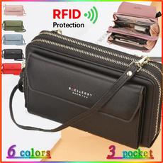Mini, Shoulder Bags, Phone, leather