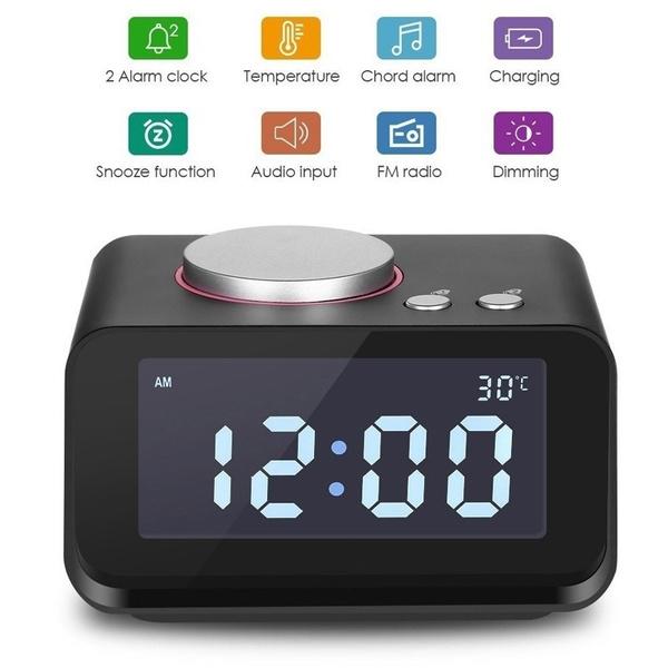 Heavy, speakerwithfmalarmclock, usb, Radios & Alarm Clocks