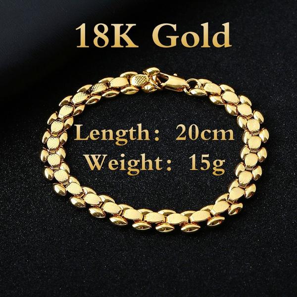 Charm Bracelet, 8MM, Personalized Jewelry, domineeringbracelet