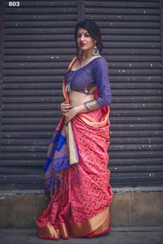 pink, blouse, Fashion, banarasisilk