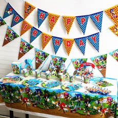sonic, theme, paperplate, Festival