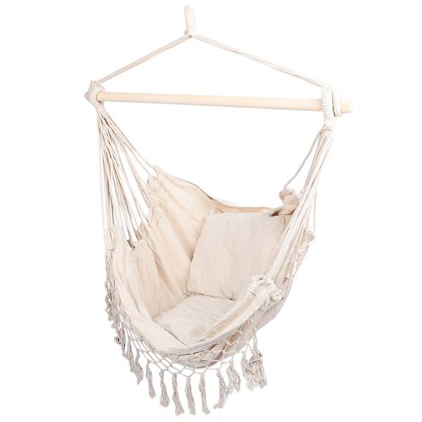 macramehangingchair, cottoncanva, hangingchair, Garden