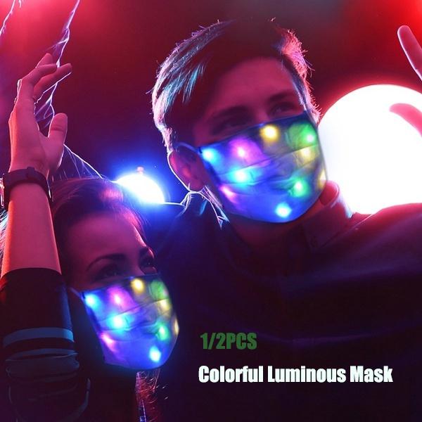 party, flashinglight, led, partymask