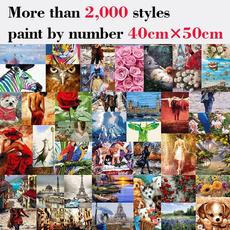 paintbynumber, paintbynumbersforadult, artist, Birthday Gift
