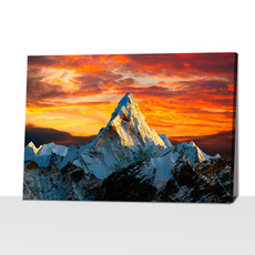 Mountain, canvasprint, onepieceposter, art
