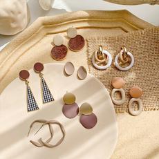 Fashion, Jewelry, ear studs, silver