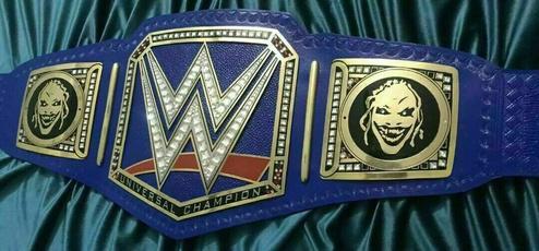 Blues, WWE, Fashion Accessory, wwebelt