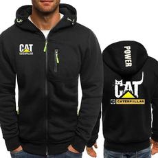 Fashion, caterpillarhoodie, Zip, Coat