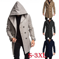 woolen, Casual Jackets, Fleece, hooded