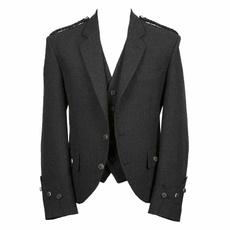 Charcoal, customcoat, Fashion, Vest