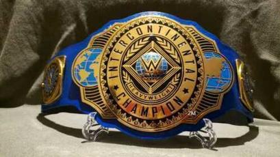 WWE, Fashion Accessory, wwebelt, wweintercontinentalchampionshiptitlebelt