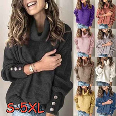 Plus Size, knittop, Long Sleeve, Coat