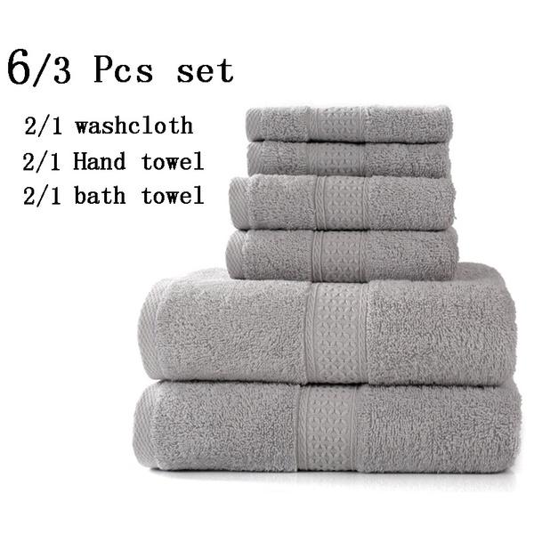 washcloth, Towels, Luxury, bathtowelset