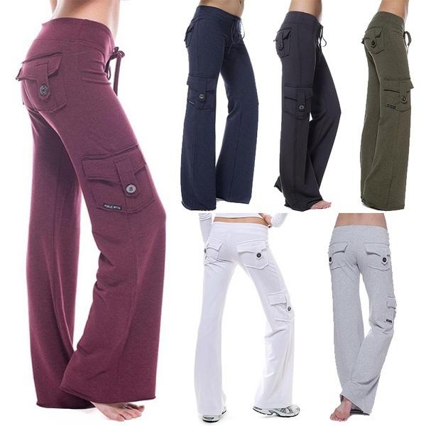 yoga pants, Yoga, cargopantswomen, women's pants